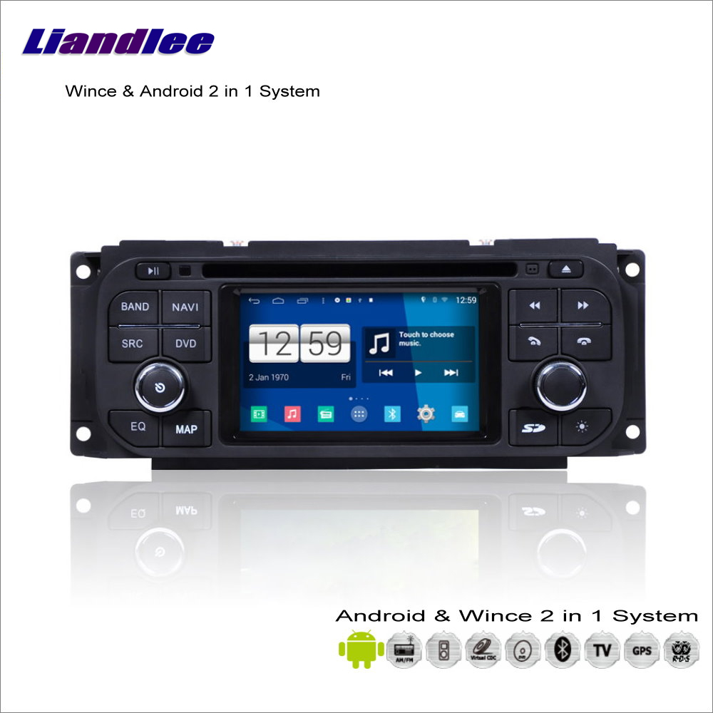 Liandlee Car Android Multimedia Stereo For Chrysler Town Country / Voyager 2001~2007 Radio DVD Player GPS Navigation Audio Video