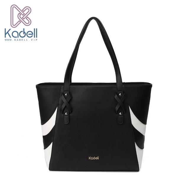 2018 Kadell Luxury Bags handbags Women Famous Brands Leathers Shoulder Bags Designer Handbags High Quality Stripe Beach Tote Bag