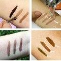 3 unids Profesional kits de maquillaje Resistente Al Agua ceja Tinte de Cejas de Ojos Gel Maquillaje 3 Color Gris Café Brown Henna Tatuaje de Cejas Gel
