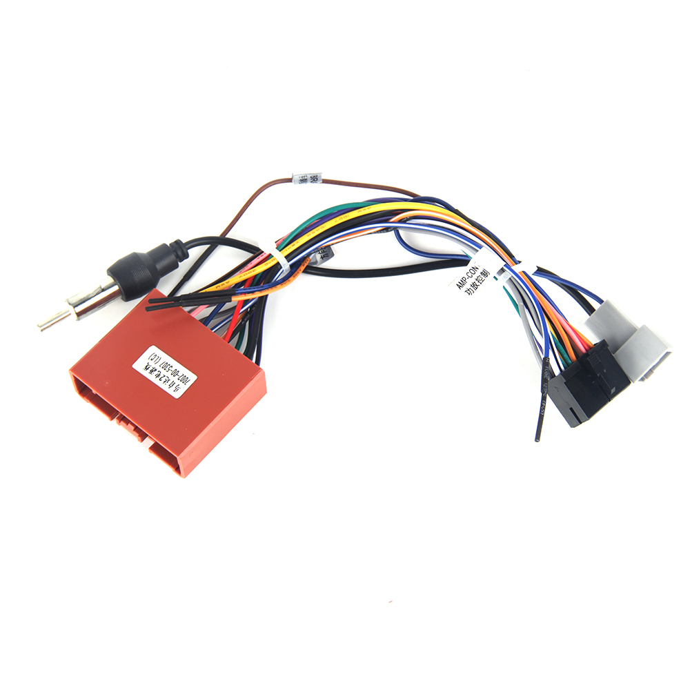 hight resolution of dasaita dyx011 car dvd auto stereo wire harness adapter wiring connector for mazda 2 3 factory cd plug in car multimedia player from automobiles