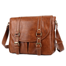 Brand Handbag Mens Cowhide Leather Shoulder Bag Quality Men Messenger Bags Crossbody For Briefcase
