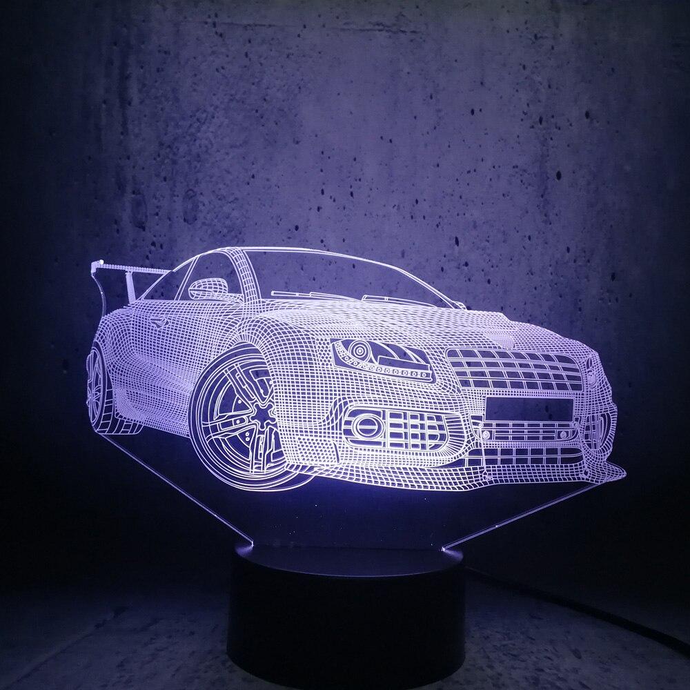 Car Lamp Cool Boy Room Decor Super