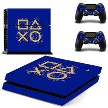 Jours de jeu édition limitée PS4 autocollant de peau autocollant vinyle pour Sony Playstation 4 Console et 2 contrôleurs PS4 autocollant de peau
