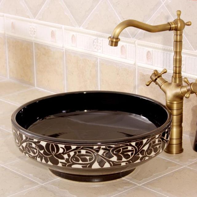 Aliexpress.com : Buy New sale Ceramic Art Basin Sinks Europe ...