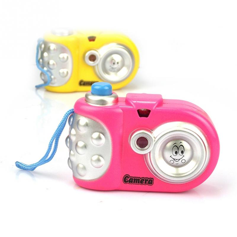 1 Pc Cute Educational Toys Baby Gift Brinquedos Cartoon Camera Toy Cartoon Projection Nursery Children Toys