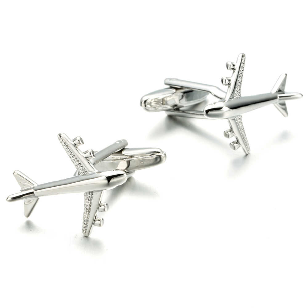 5eef0250a03e VAGULA Fighter Cuff links Quality Plane French Cufflinks Laywer Gift links  Jewellery Warplane Gemelos Men Jewelry