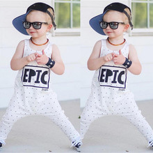 Summer Autumn Cotton Newborn Baby Girl Boy Clothes Sleeveless Letter Print Romper Jumpsuit Playsuit Outfits