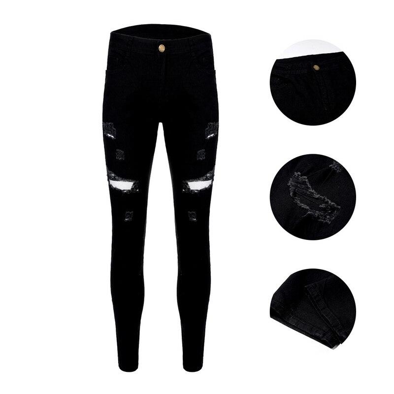 NIBESSER, мужские брендовые обтягивающие джинсы, брюки, повседневные брюки,, джинсовые черные джинсы, homme, Стрейчевые узкие брюки размера плюс, уличная одежда 3XL