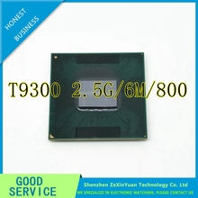 CPU laptop Core 2 Duo T9300 CPU 6M Cache/2.5GHz/800/Dual-Core Socket 479Laptop processor for GM45 PM45