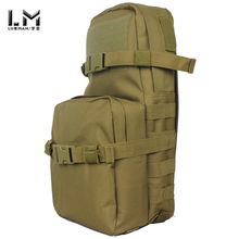 Tactical vest bag backpack Tactical Hydration Pack Camouflage Molle backpack Attached bag Outdoor Travel Bag