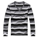 Free Shipping Mens Spring Slim Fit V-NECK Shirt Casual Solid Thin Pullovers Sweaters For Mens 39