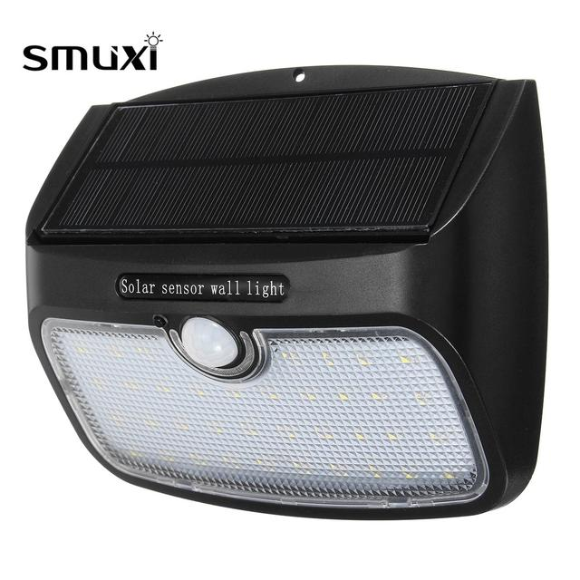 Smuxi 38 led detachable 2 in 1 solar motion sensor light outdoor smuxi 38 led detachable 2 in 1 solar motion sensor light outdoor security lamp garden waterproof aloadofball Images