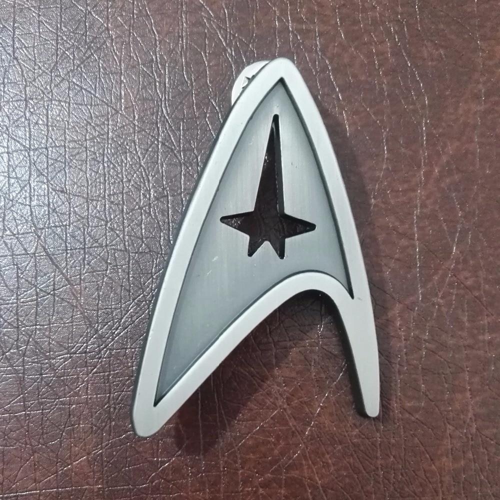Star Trek Badge Cosplay Starfleet Command Division Badges Brooch Pin