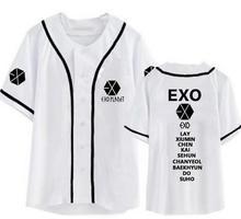 EXO Planet Band Member Baseball Jersey