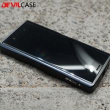 Devilcase для Sony Xperia XZ premium 5.5 дюйма Защитная Алюминий бампер Рамка ЧПУ вырез качество xzp жесткий корпус гаджеты