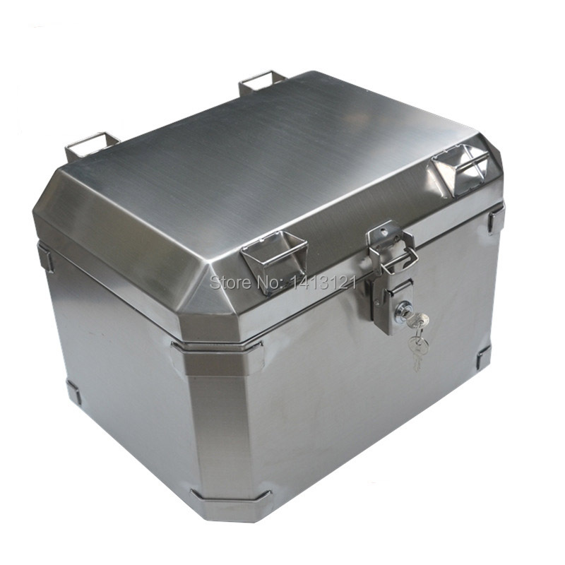 portable stainless steel toolcase home storage tool box Tool Packaging equipment transport box motorcycle rear tail box trunk
