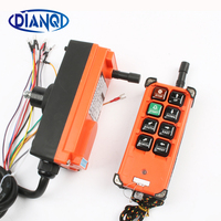 Беспроводной промышленный дистанционный регулятор коммутаторы управление подъемного крана подъемный кран 1 передатчик + 1 приемник F21-E1B 6 к...