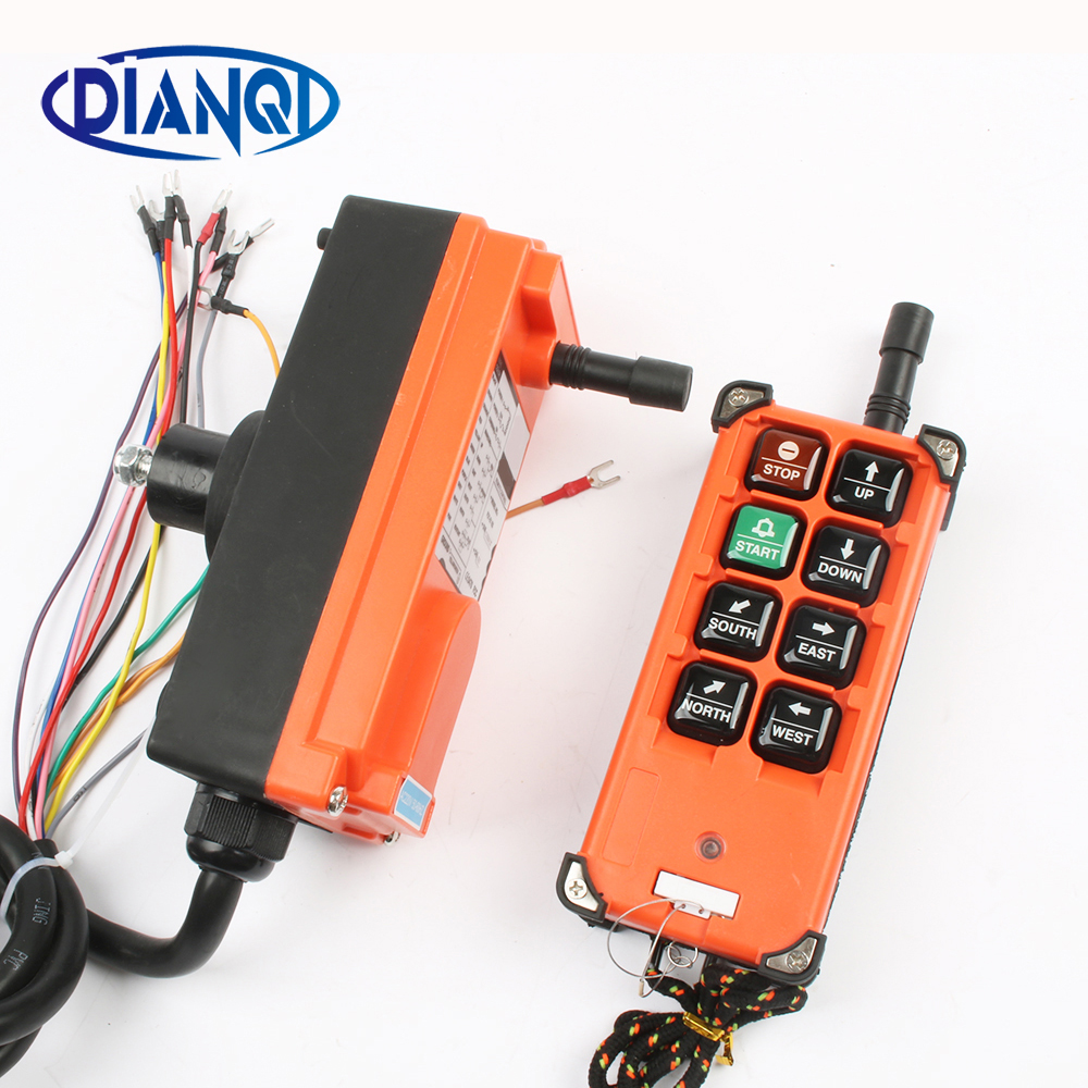 Industrial remote controller switches Hoist Crane Control Lift Crane 1 transmitter + 1 receiver F21-E1B ac 220v industrial remote controller switches hoist crane control lift crane 1 transmitter 1 receiver switch switches