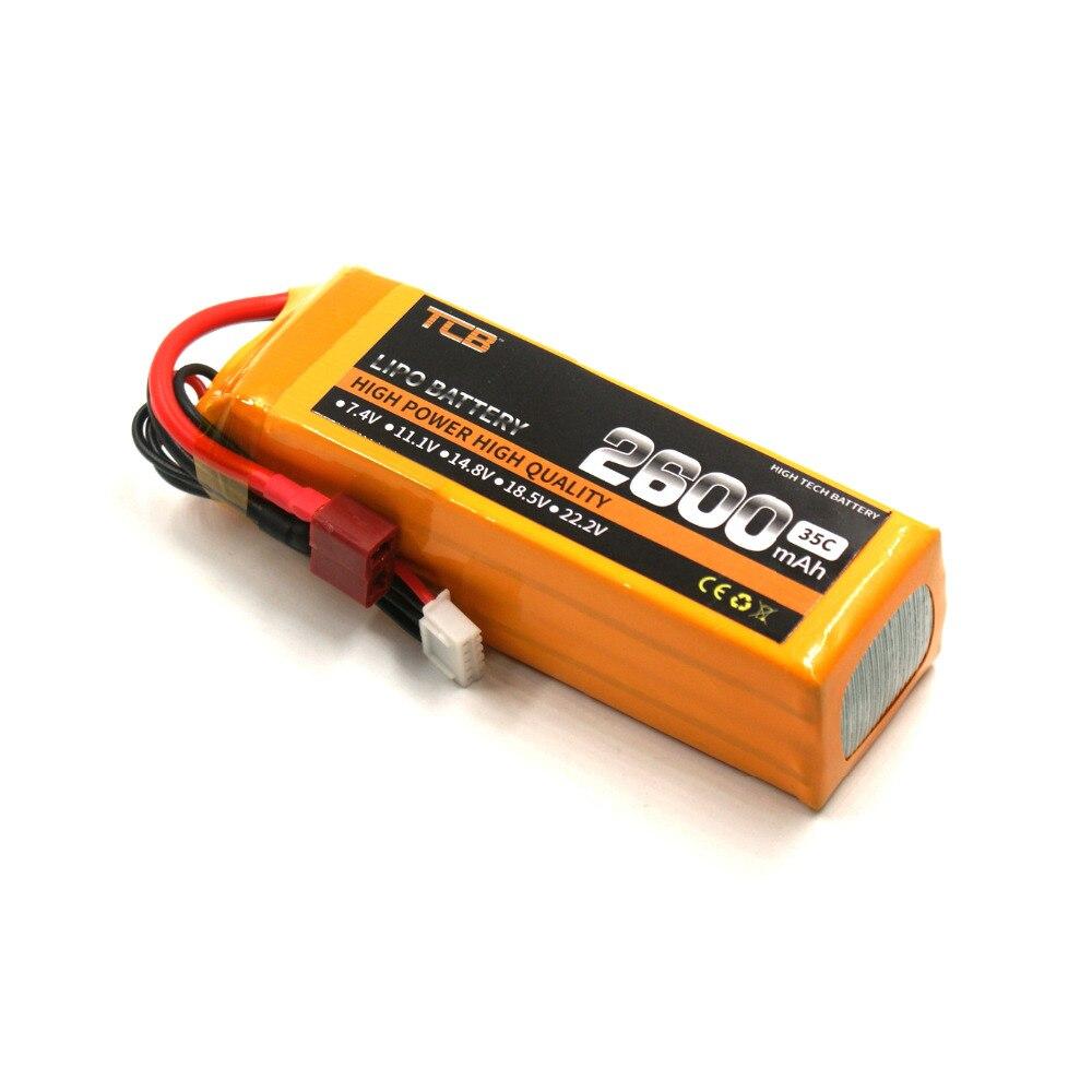 TCB RC lipo batterij 11.1 v 2600 mAh 35C 3 s voor RC vliegtuig drone - Radiografisch bestuurbaar speelgoed