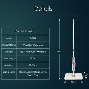Image 2 - สเปรย์Mopสำหรับไม้เนื้อแข็งชั้นMopไมโครไฟเบอร์เครื่องซักผ้าPadสำหรับQuick Cleanerพร้อมเติมน้ำขวด