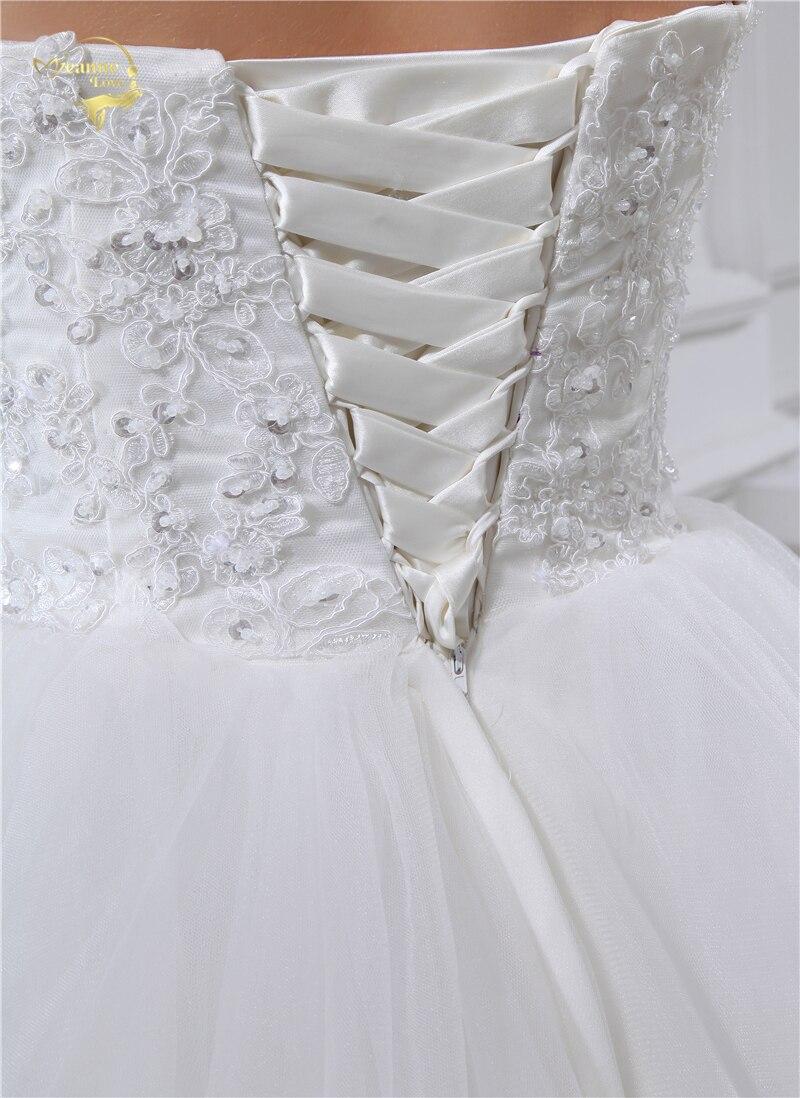 Jeanne Liebe Schatz Brautkleider 2018 ALine Brautkleider Weichen ...