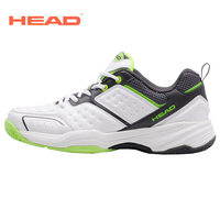 HEAD Men Tennis Shoes PU Leather Lace Up Sneakers Breathable Outdoor Sport Tennis Shoes Original Hombre Athletic Shoes For Men