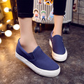 Spring 2016 low to help the canvas shoes female students increased thick cloth shoes bottom lazy leisure a pedal B454
