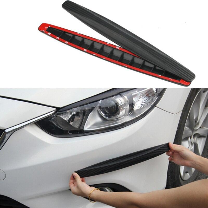 Universal Car Front/Rear/Bumper Anti-collision Strip Sticker for TOYOTA RAV4 C-HR COROLLA CROWN REIZ PRIUS COROLLA VIOS LAND