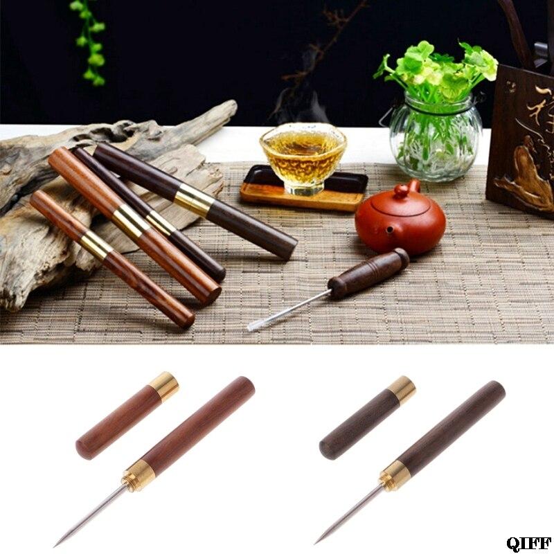 Puer Tools Tea Cone Needle For Breaking Prying Tea Brick Professional Tool JUN06