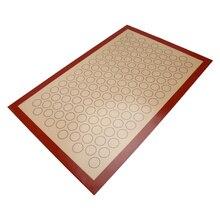60*40 cm Nicht-Stick Silikonbackmatte Glasfaser Backofen Blatt Liner Für Makronen/Brot//kekse Küche Backformen