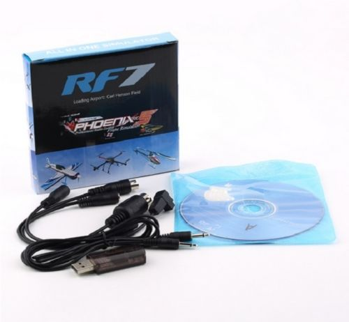 22 IN 1 RC USB FLIGHT SIMULATOR CABLE FOR REALFLIGHT G7 G6 G5 G4 G3.5 ...