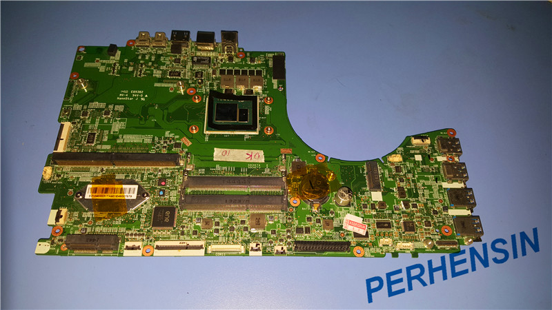 Original FOR MSI GT72 MOTHERBOARD WITH I7 4980HQ SR1ZY CPU MS 17811 MS 1781 100% Work Perfectly