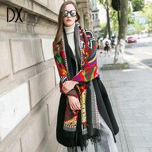 Новинка сезона -зимний шарф для женщин утолщенный шерстяной