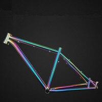 Custom Mtb Bike Frame Road Bike Titanium Farme 26 27 5 29 And Bmx Frame Bike