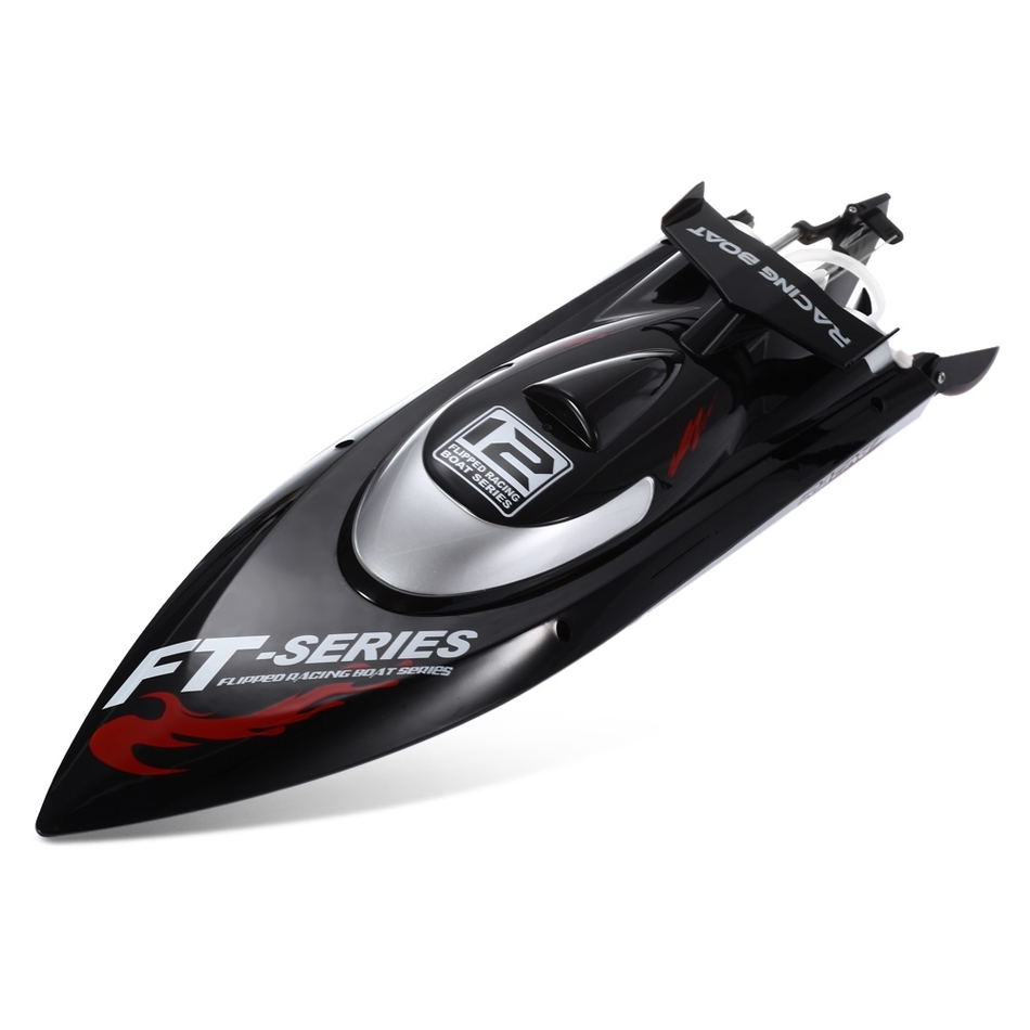 Fei Lun FT012 2.4G 4CH 45km/h Water Cooling System Anti-collision Fine Adjustment Gear Brushless Remote Control Racing Boat 2019Fei Lun FT012 2.4G 4CH 45km/h Water Cooling System Anti-collision Fine Adjustment Gear Brushless Remote Control Racing Boat 2019