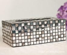 Завод точек творческие домашние ремесла мозаики tissue box, SH300