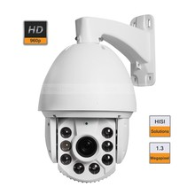 6″ 1.3MP HD 960P IP Medium Speed Dome Network PTZ IR Camera 20X ZOOM HISI Solutions Onvif