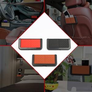 Image 5 - 車オーガナイザーシートバックポケットボックス車自動車片付けスタイリング収納袋ネット自動車の付属品車のための