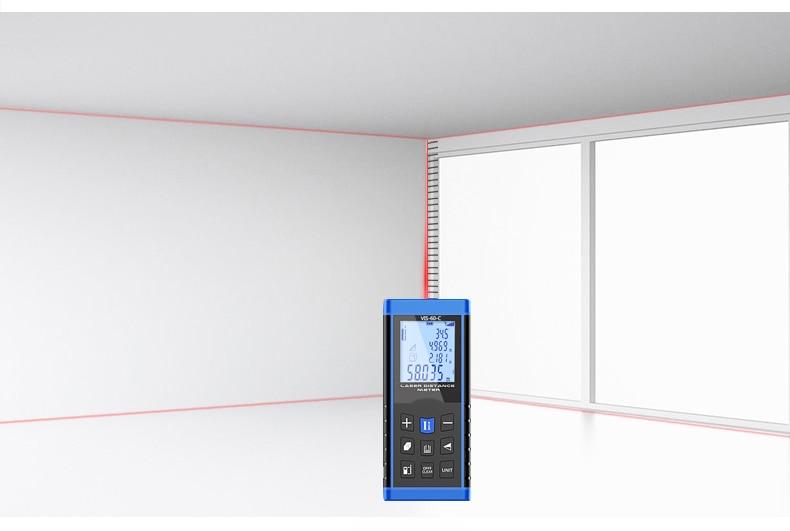 Laser Entfernungsmesser Reflektor : Digitale laser distanzmessgerät entfernungsmesser