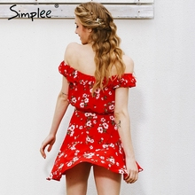 Vintage Party Ruffles Short Dress