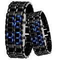 Eletrônico 2016 nova moda Lava relógios LED digital pulseira relógio homens relógio de pulso relogio masculino montre femme
