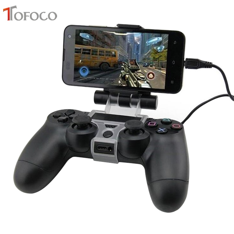 For PS4 Accessories Clip Clamp Stand Bracket For PlayStation 4/Slim/Pro Dualshock 4 Controller Holder Joystick Mount