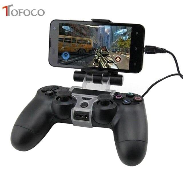 עבור PS4 אביזרי קליפ מהדק Stand Bracket עבור פלייסטיישן 4/רזה/פרו Dualshock 4 בקר מחזיק ג ויסטיק הר