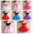 heat! Child girl big butterfly elegant bridesmaid dress child children baby princess dress chiffon evening dress formal 2-7years