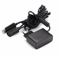 New EU USB Charging AC Power Supply Cable Cord Adapter For Xbox 360 Slim Video Game