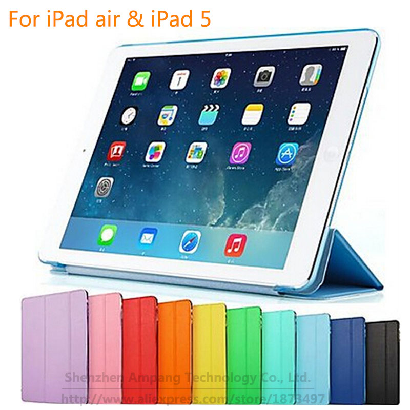 Matte Hard Back Slim Magnetic PU Leather Smart Cover Case for Apple iPad Air 1 iPad 5 9.7  A1474 A1475 A147 Coque Funda CapaMatte Hard Back Slim Magnetic PU Leather Smart Cover Case for Apple iPad Air 1 iPad 5 9.7  A1474 A1475 A147 Coque Funda Capa
