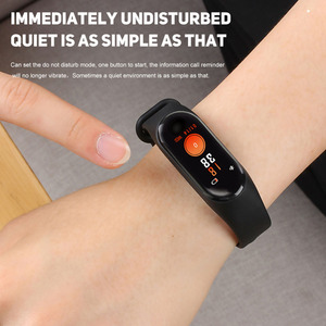 Image 2 - !ACCEZZ Smart Band Bracelet For Xiaomi Blood Pressure Measurement Colorful Screen M3 Sport Wristband Fitness Tracker For Android