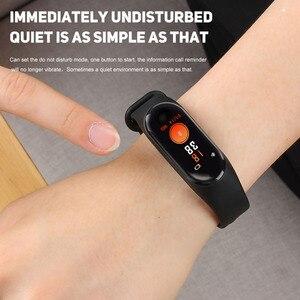 Image 2 - ! ACCEZZ الذكية الفرقة سوار ل Xiaomi ضغط الدم قياس الملونة شاشة M3 الرياضة جهاز مراقبة اللياقة على شكل سوار يد لالروبوت