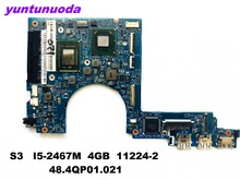 Original for ACER S3 391 951 laptop motherboard S3-391 S3-951 I5-2467M 4GB 11224-2 48.4QP01.021tested good free shipping