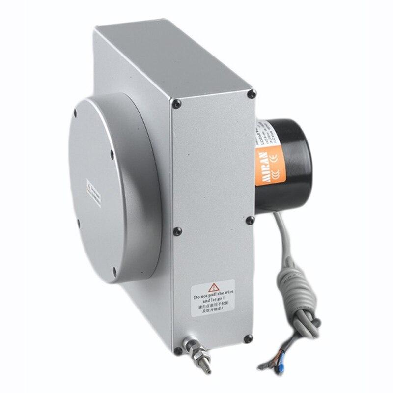 Ev Aletleri'ten Kişisel Bakım Aletleri Parçaları'de 4 20 mA Akım Çıkışı MPS S 1000mm mA Kablo çekme deplasman sensörü
